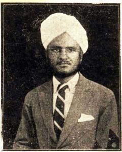 Bhagat S Bilga. Kirti Newspaper. 1930