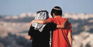 Togetherness_Jewish_Palestinian_Child_political_solution