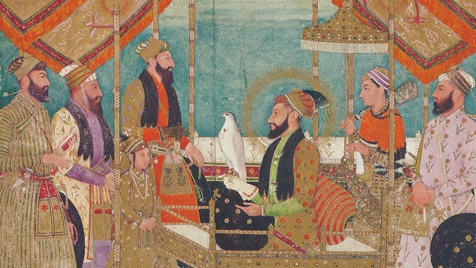 mughal court