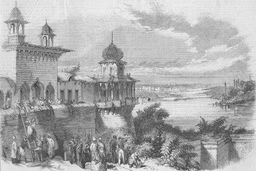 old agra painting