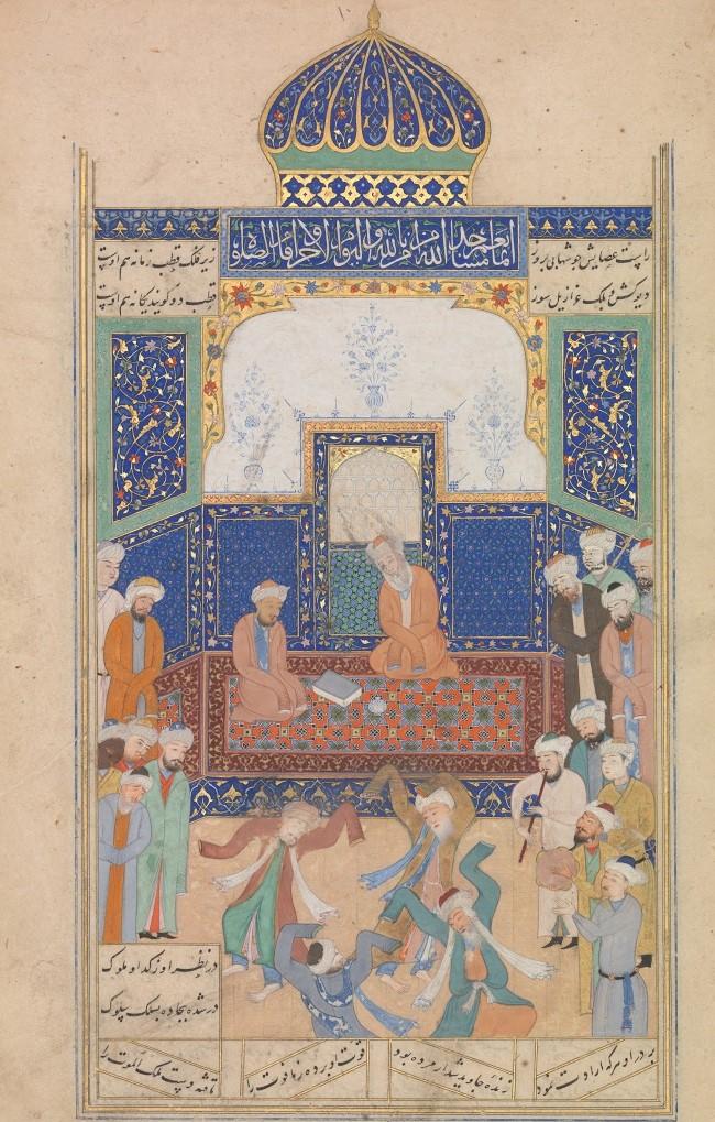 Sufis performing Sama before Shaikh Nizam al-Din Auliya (2)